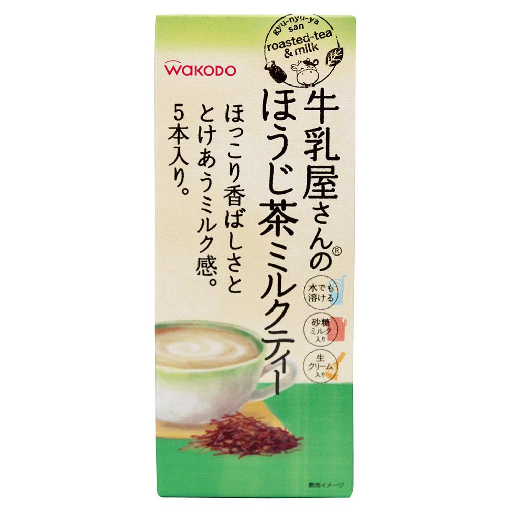 和光堂 牛乳屋奶茶-焙茶風味(55g)