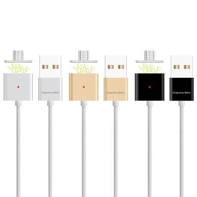 "WSKEN 智能""雙""金屬磁性 Mirco USB 線"