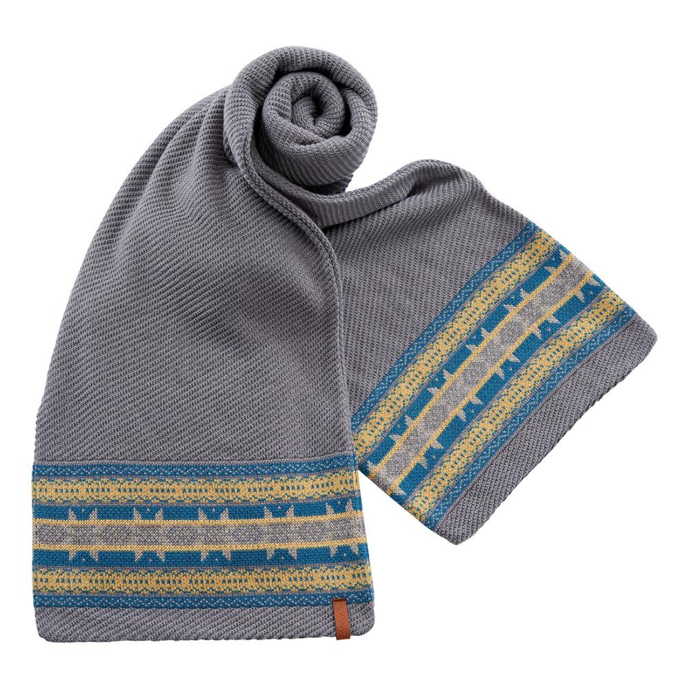 【ATUNAS 歐都納】保暖圍巾 A-A1544 灰
