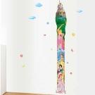 B-003童趣生活系列-城堡與公主身高尺 大尺寸高級創意壁貼 / 牆貼
