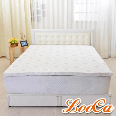 LooCa 棉柔HT高規5cm乳膠床墊-雙人5尺