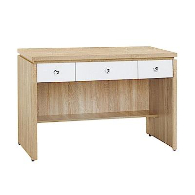 Bernice-傑寶4尺簡約三抽書桌/工作桌(三色可選)-120x59x81cm