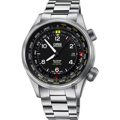 Oris豪利時 Big Crown ProPilot 高度儀飛行機械腕錶-47mm
