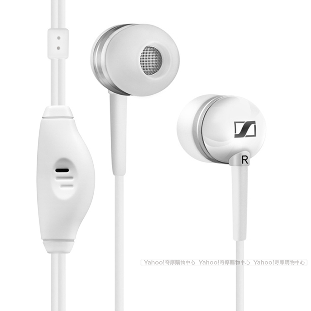 SENNHEISER 聲海 MM50 iPhone 專用耳機 白色版