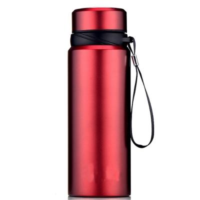 PUSH!登山戶外休閒用品不鏽鋼冷泡茶保溫水壺保溫瓶1100ml保溫杯E98