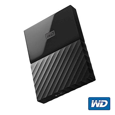 WD My Passport 2TB 2.5吋行動硬碟(黑色/薄型)