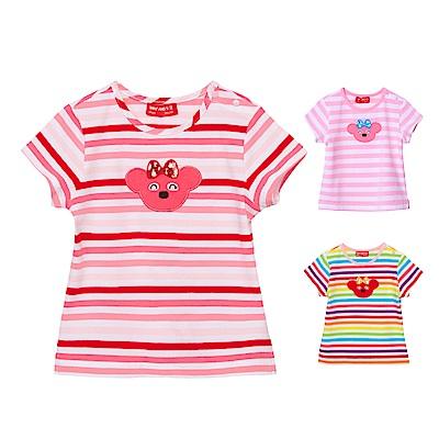 WHY AND 1/2 mini 合身版棉質萊卡T恤 0M-4Y 多色可選
