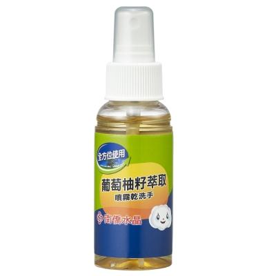 南僑水晶葡萄柚籽噴霧乾洗手70ml