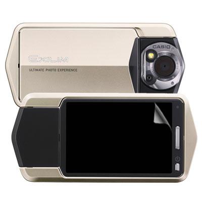 CASIO EX-TR150 靚亮豔彩防刮螢幕保護貼 螢幕貼(二入)