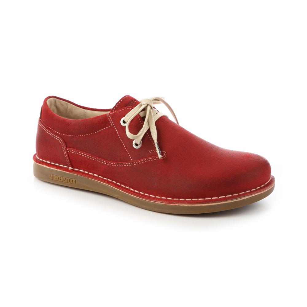 勃肯BIRKENSTOCK 406541曼非斯 休閒鞋(暗紅)