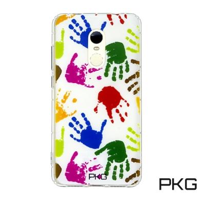 PKG 紅米NOTE4X 彩繪空壓氣囊浮雕彩繪-拍拍手