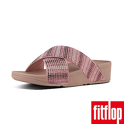FitFlop STROBE SLIDE SANDALS 灰粉