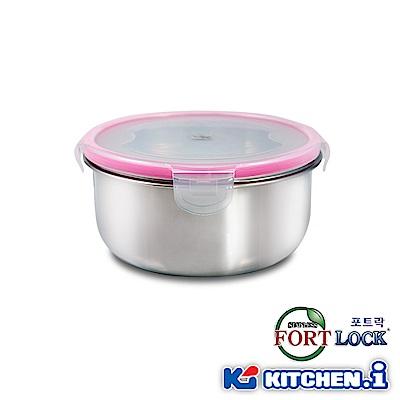 韓國FortLock 圓型不鏽鋼保鮮盒570ml KFL-R2-2