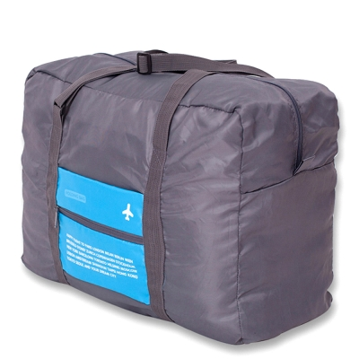 DF Queenin - 韓版折疊款大容量手提式旅行袋-共3色