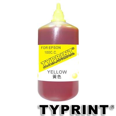 TY 『EPSON專用』 連續供墨補充墨水100CC (黃色)