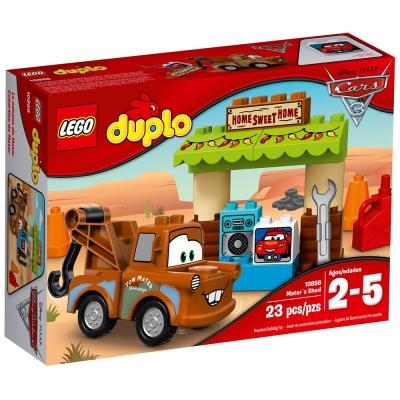 LEGO樂高 得寶系列 10856 CARS汽車總動員 拖線的棚子