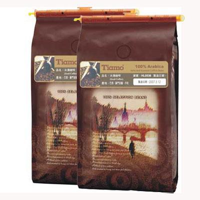 Tiamo 冰滴咖啡豆1磅-2包入(HL0536)
