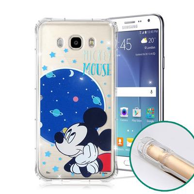 迪士尼授權正版 三星 Galaxy J7(2016) 空壓安全手機殼(米奇)