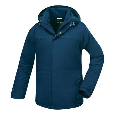 歐都納 GORE-TEX 男款防水科技保溫棉外套 A-G1552M 深藍