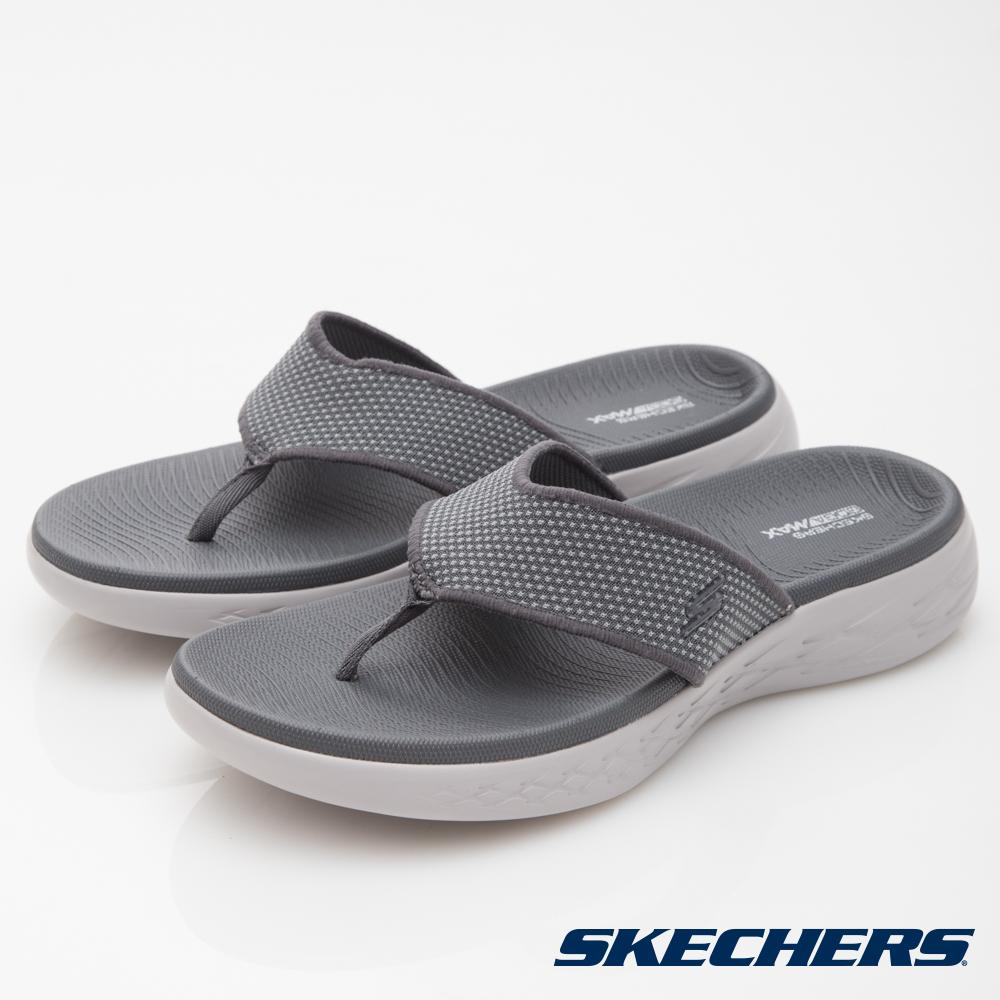 SKECHERS(男)休閒系列ON THE GO CITY600拖鞋-55350CHAR