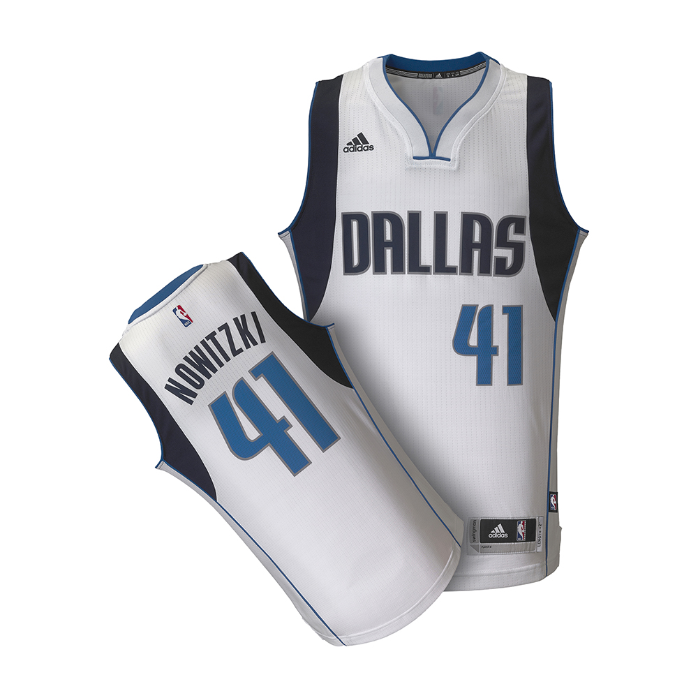 adidas NBA小牛隊Dirk Nowitzki球衣A46005