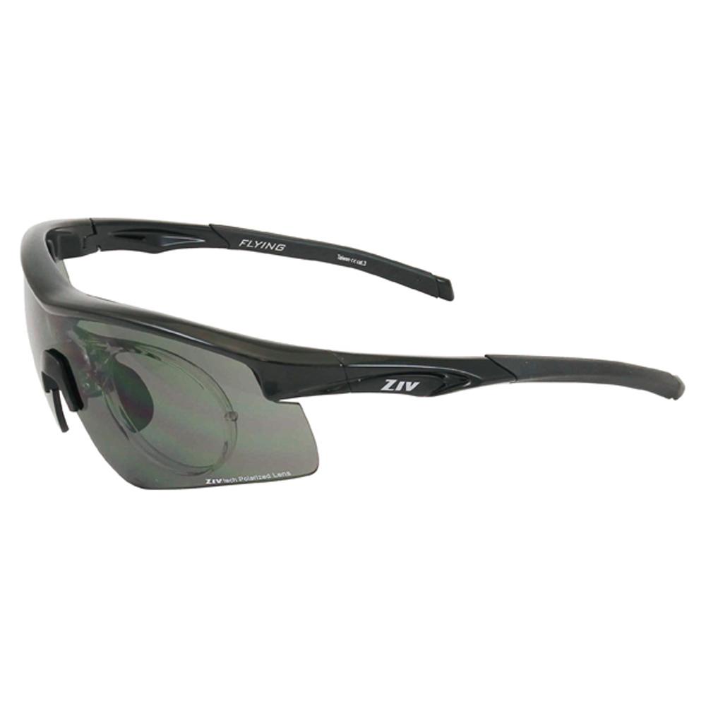 ZIV運動偏光太陽眼鏡 可拆換式光學內視鏡系列/黑#B104001