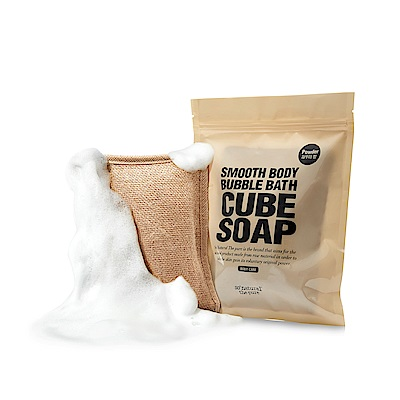 SO NATURAL 天然麻SPA泡泡搓澡皂(160g)