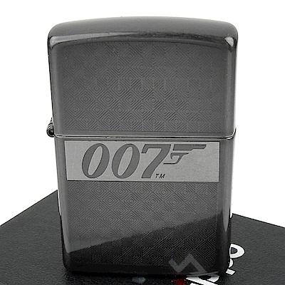 ZIPPO 美系~James Bond 007-詹姆士龐德Logo圖案雕刻打火機