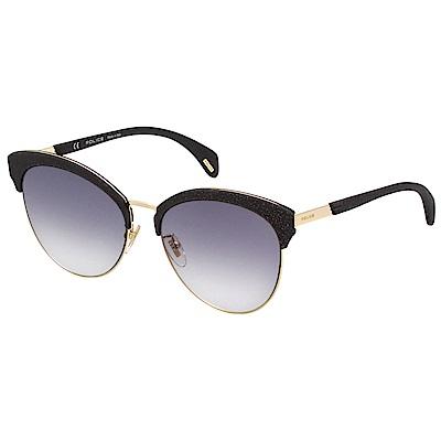 POLICE 太陽眼鏡 (黑+金色)PE-SPL619