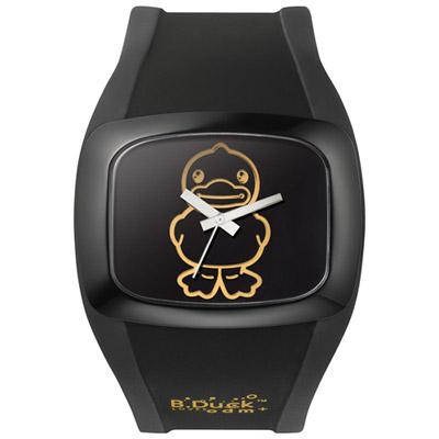 o.d.m. B. Duck系列黃色小鴨聯名腕錶-黑/46mm