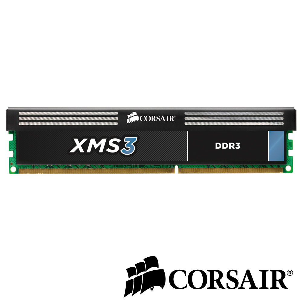 CORSAIR XMS3 DDR3-1600 4GB (4GX1) CL9