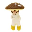 羊毛氈材料包-蘑菇農夫