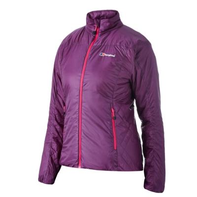 【Berghaus貝豪斯】女款保暖纖維抗風防潑水外套H22FP2-紫
