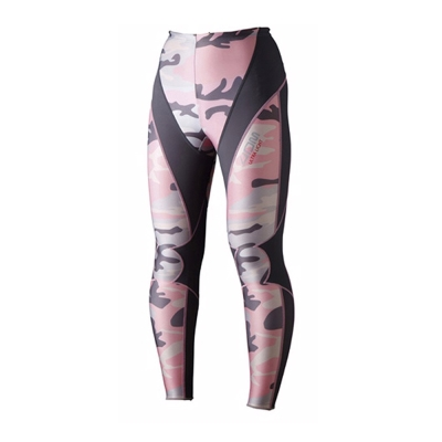 4DM-女用極輕量機能壓縮長褲-繽紛系列-共二色