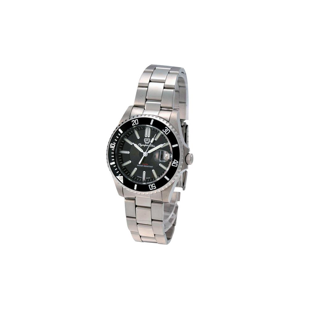 OP 奧林比亞夜鷹系列石英運動錶