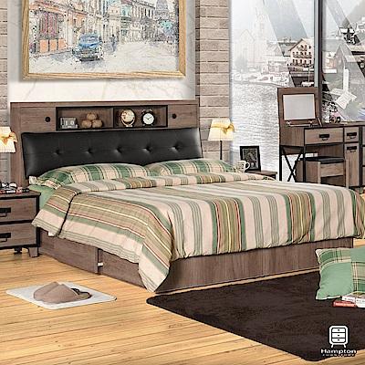 漢妮Hampton辛克萊系列5尺被櫥式雙人床台