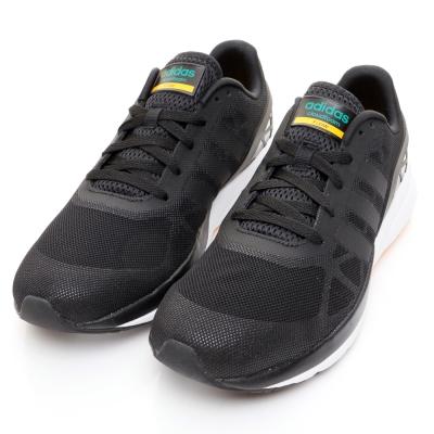 ADIDAS-CLOUDFOAM男慢跑鞋-黑