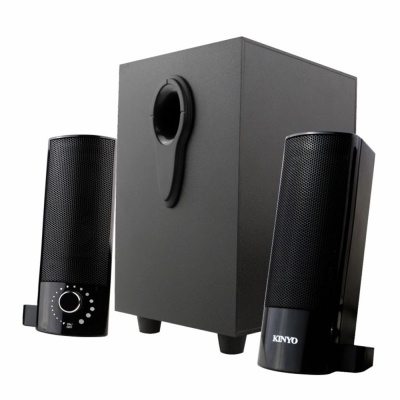 KINYO USB供電2.1多媒體音箱(US-330)