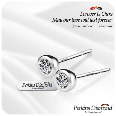PERKINS 伯金仕 - GIA ONO系列 總重0.60克拉 鑽石耳環