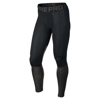 Nike Hypercool Max 緊身 男 黑銀