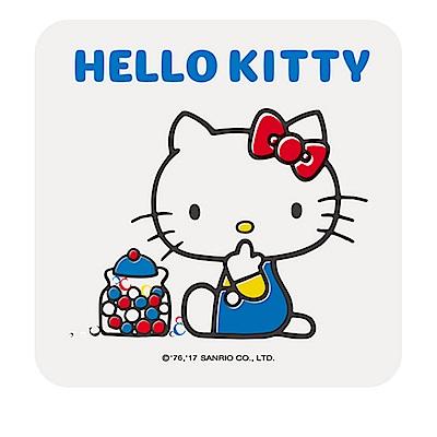 【收納皇后】Hello Kitty繽紛彩繪杯墊/皂盤-糖果罐