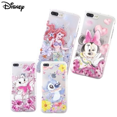 Disney迪士尼iPhone7 Plus(5.5吋)防摔氣墊空壓保護套-淡彩俏...