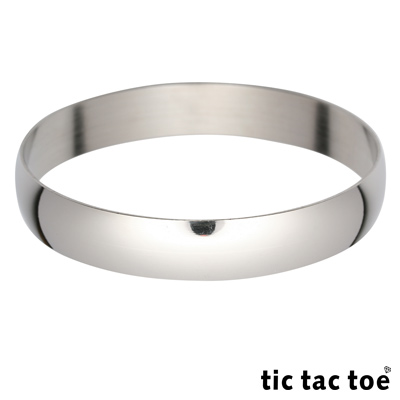 tic tac toe 白鋼手環系列-冷冽