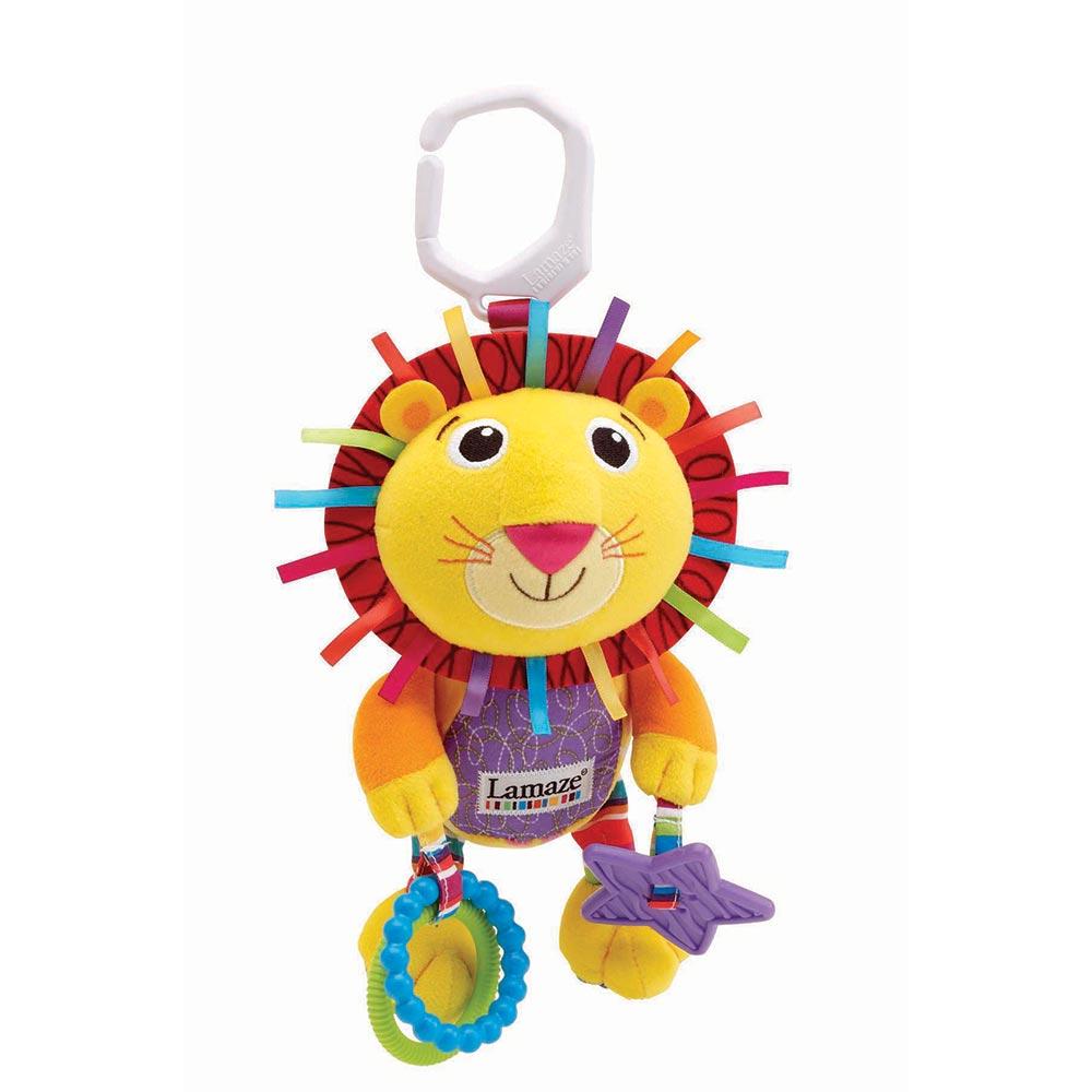 Lamaze拉梅茲嬰幼兒玩具 - 柔軟小獅子