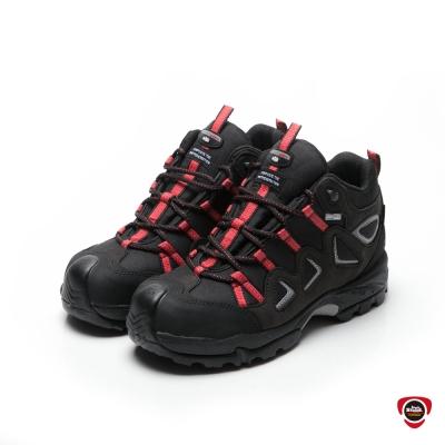 IronSteel T-955|Outdry帥氣紅點防水安全鞋
