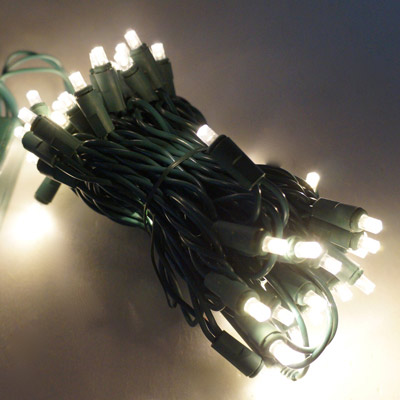 LED燈串-50燈樹燈串 (暖白光)(附控制器)(高亮度又省電)