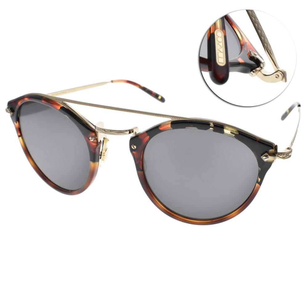OLIVER PEOPLES太陽眼鏡 好萊塢星鏡/琥珀棕#REMICK 158887