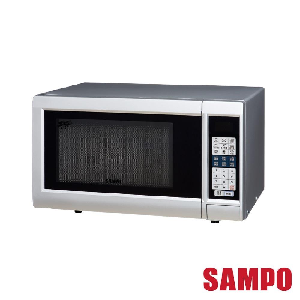 (快速到貨) SAMPO 聲寶 25L 天廚微電腦微波爐 RE-N525TM @ Y!購物