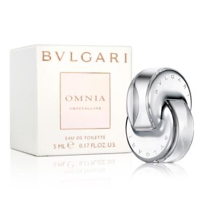 Bvlgari寶格麗 晶澈女性淡香水小香(5ml)