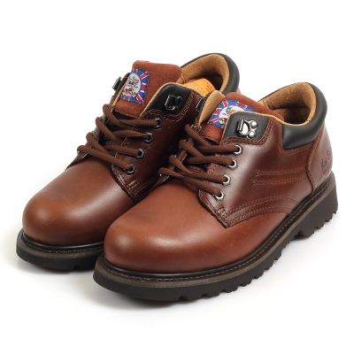 Kai Shin 安全工作鞋 深咖色